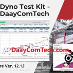 New Model Softwre Dyno Tes DaayComTech Ver 12.12 for Electric Motorbike